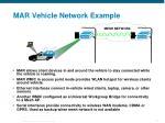 mar vehicle network example
