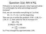 question 1 a mv pq