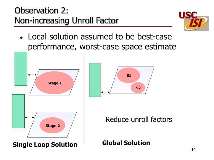 Observation 2: