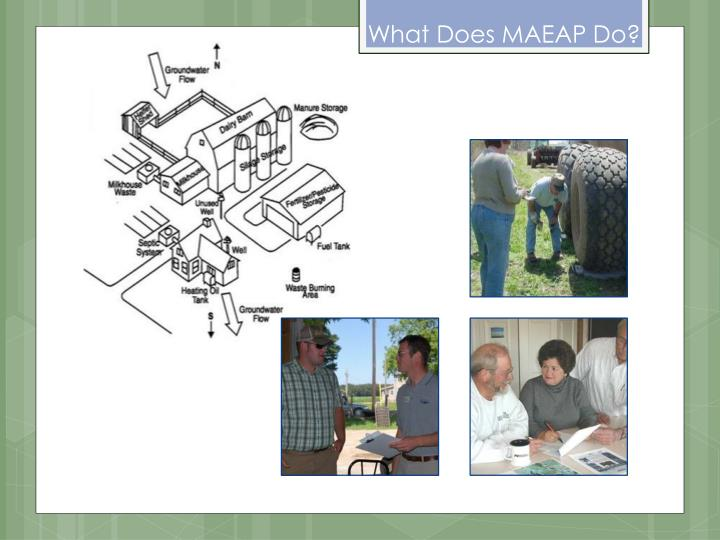 What Does MAEAP Do?