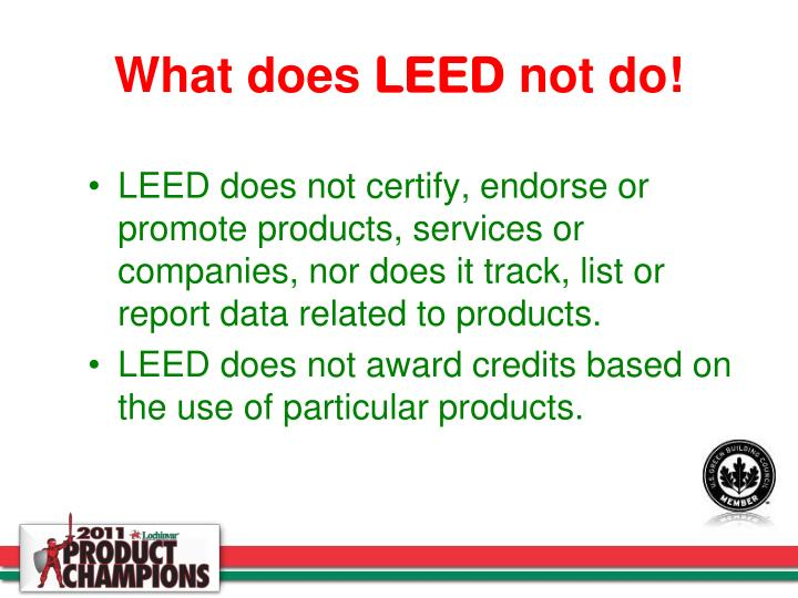Ppt leed and powerpoint presentation id 4386733 for What is leed