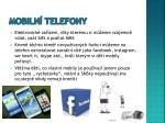 mobiln telefony