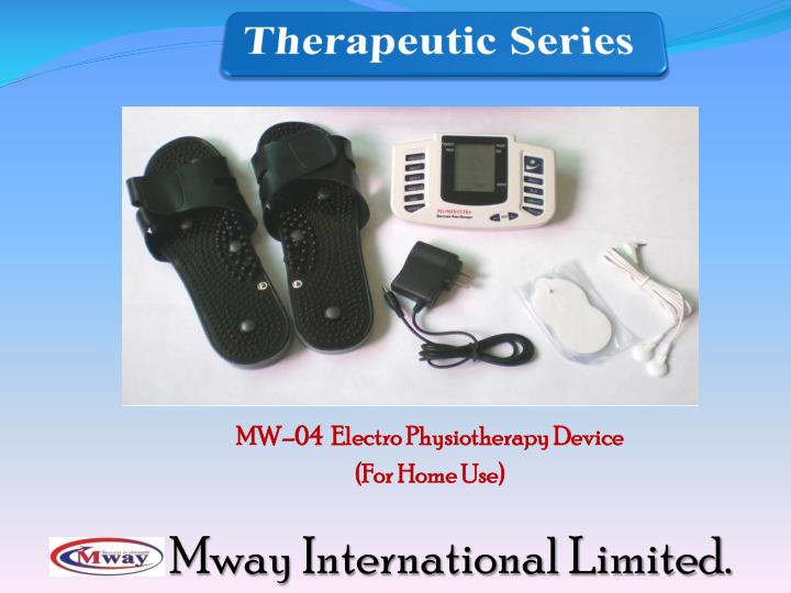 MW–04  Electro Physiotherapy Device