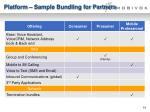 platform sample bundling for partners