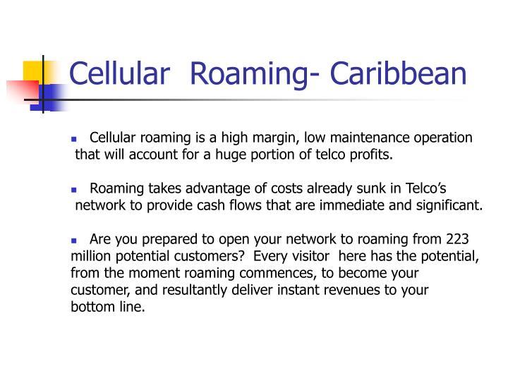 Cellular  Roaming- Caribbean