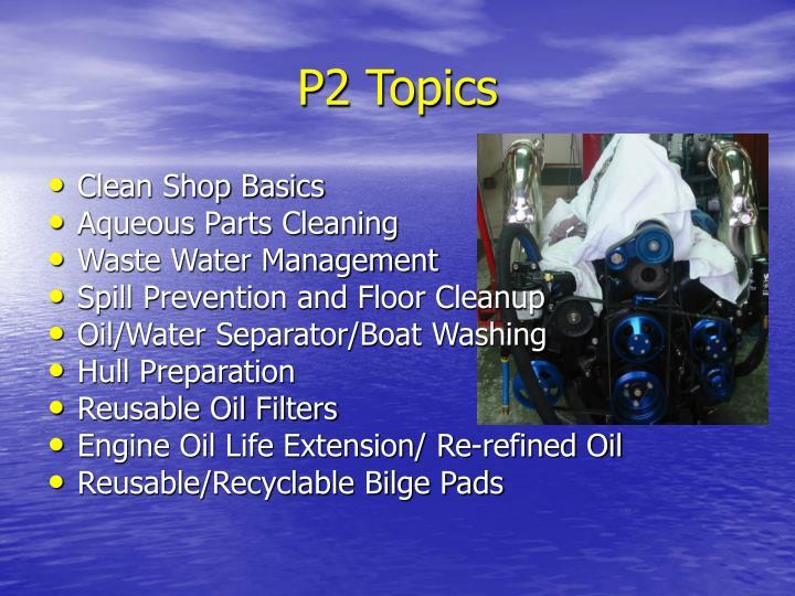 P2 Topics