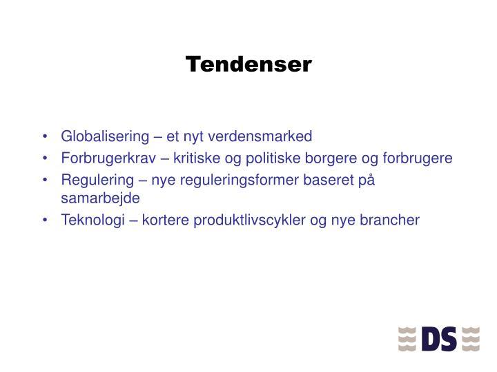 Tendenser