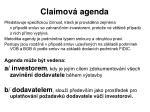 claimov agenda1