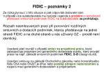 fidic pozn mky 2
