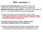 fidic pozn mky 4