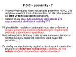 fidic pozn mky 7