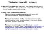 v stavbov projekt procesy1