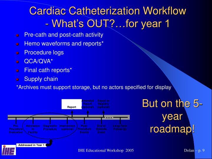 Cardiac Catheterization Workflow