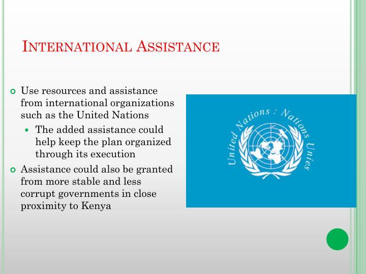 International Assistance