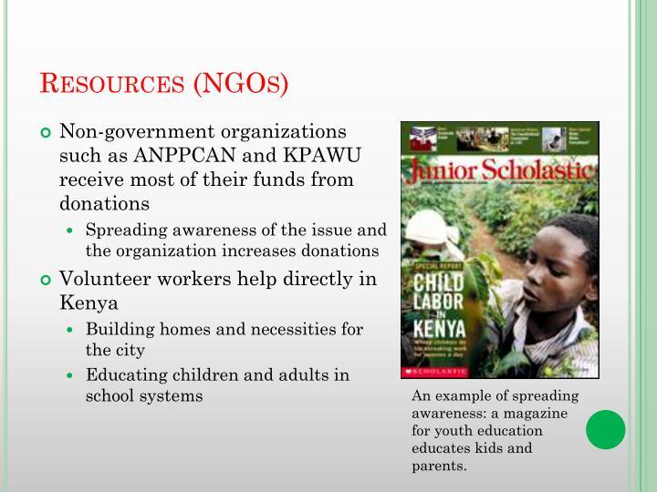 Resources (NGOs)