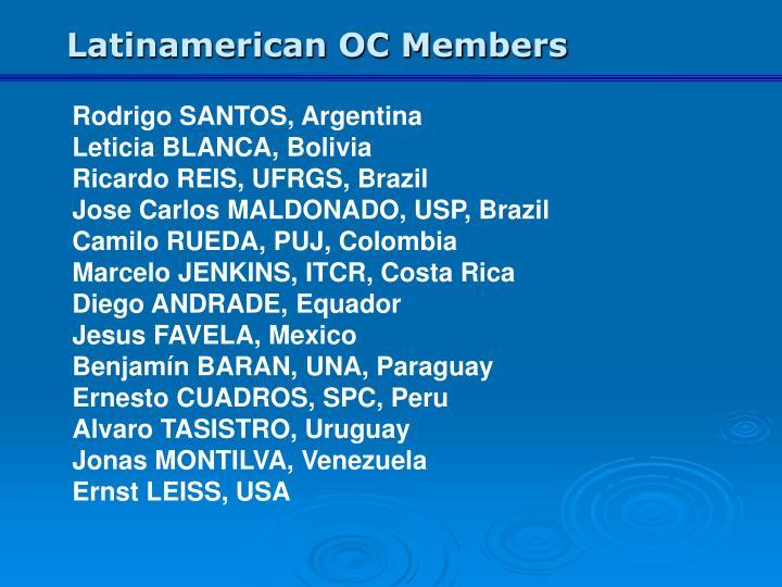 Latinamerican OC Members