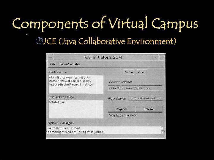 Components of Virtual Campus