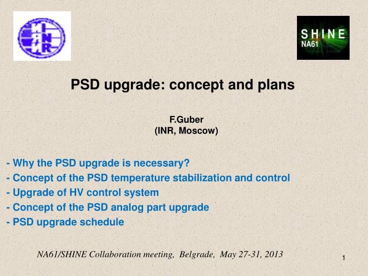 psd upgrade concept and plans n.