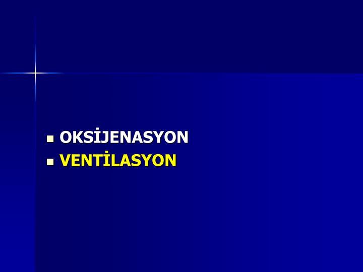 OKSİJENASYON