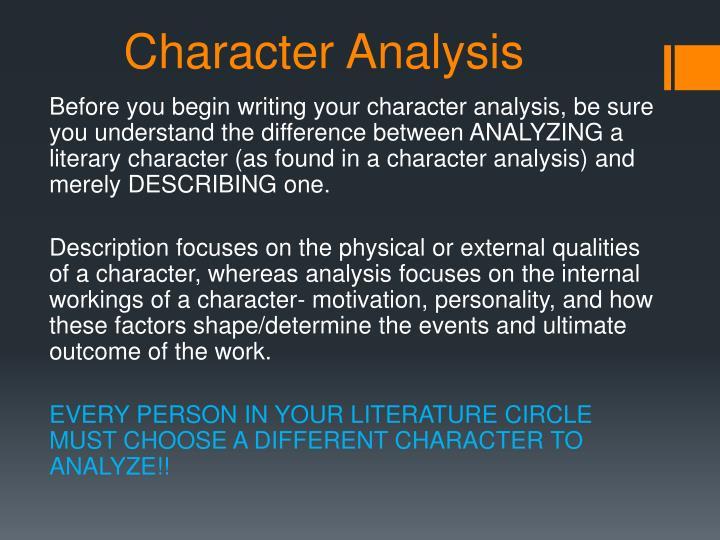 an analysis of the character myricks