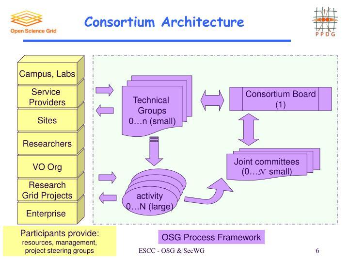 Consortium Architecture