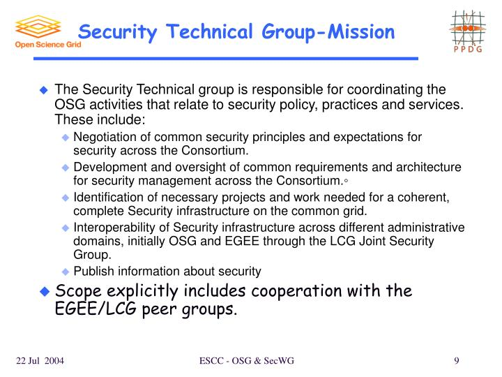 Security Technical Group-Mission