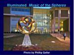 illuminated music of the spheres