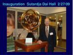 inauguration sutardja dai hall 2 27 09
