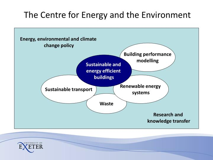 The Centre for Energy and the Environment