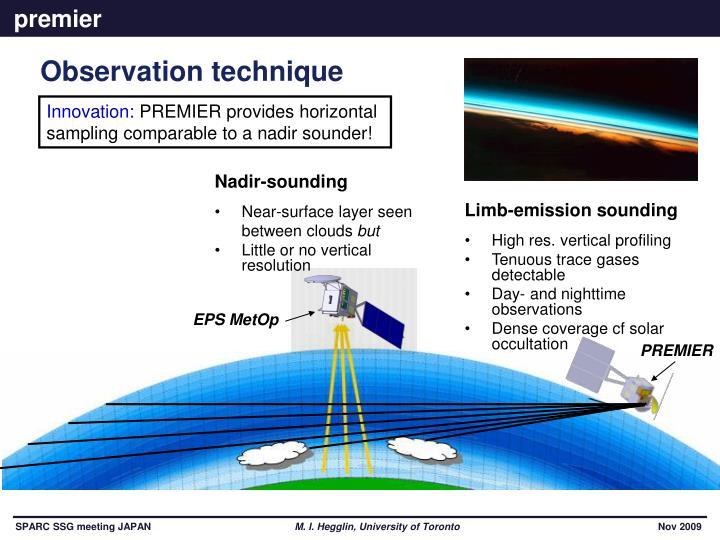 Observation technique