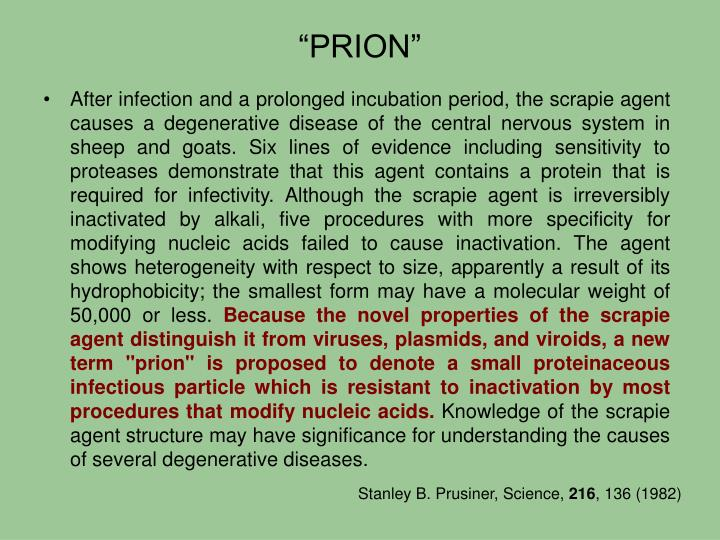 """""""PRION"""""""