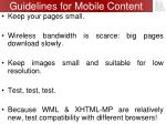 guidelines for mobile content1