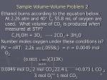 sample volume volume problem 2