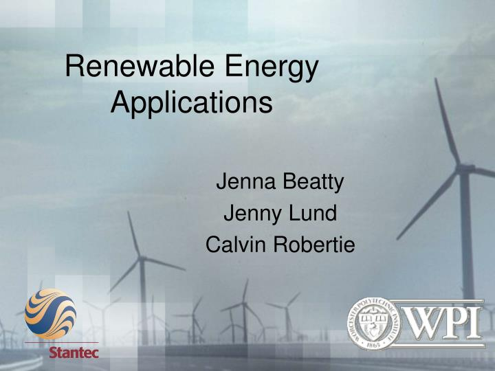 Ppt application of solar energy powerpoint presentation, free.
