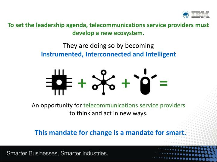 This mandate for change is a mandate for smart.
