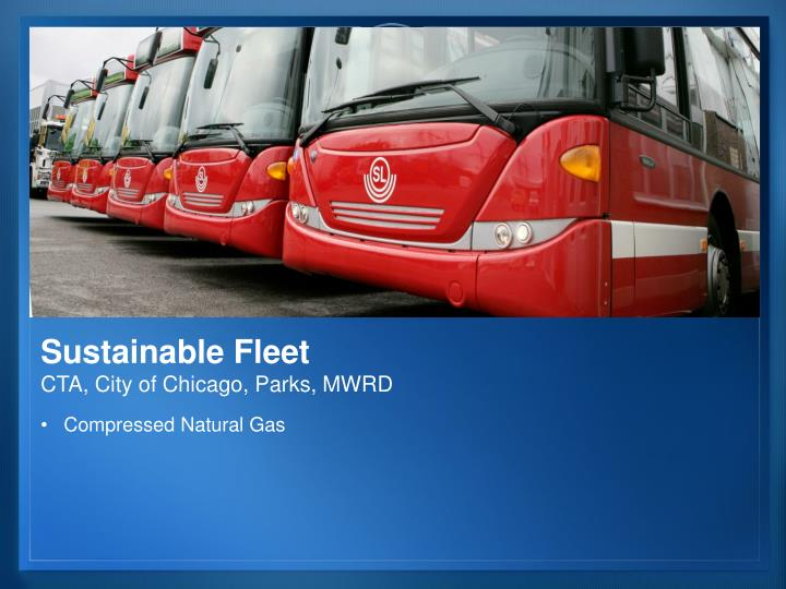 Sustainable Fleet