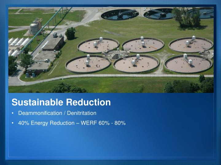 Sustainable Reduction