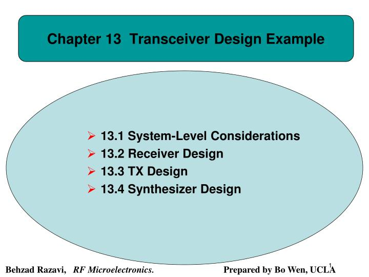 chapter 13 transceiver design example n.