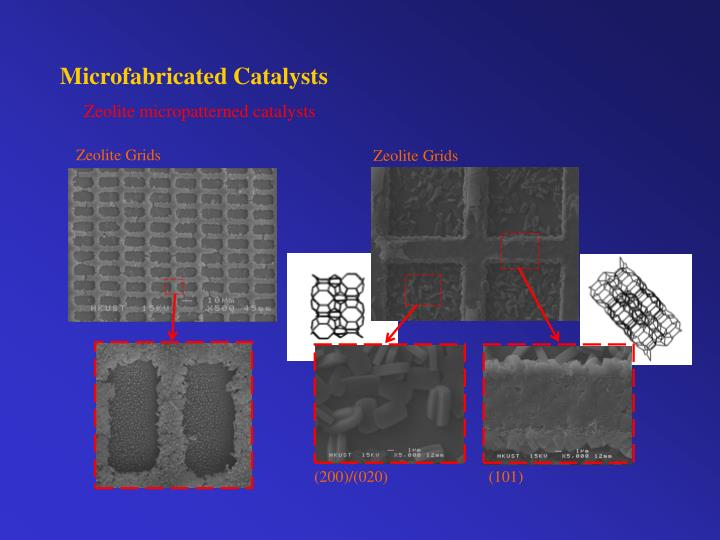 Microfabricated Catalysts