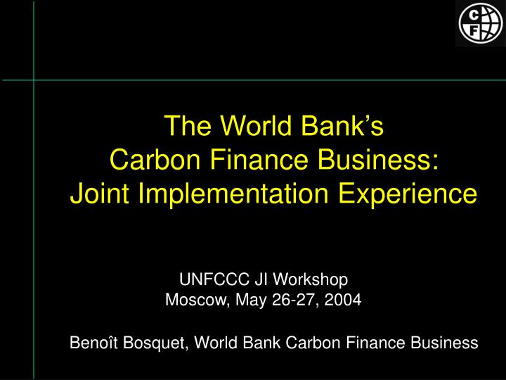 carbon finance in africa and strategies Up carbon finance in india the study team intends to complement this current analysis through the conduct of a market study dedicated to the indian carbon market.