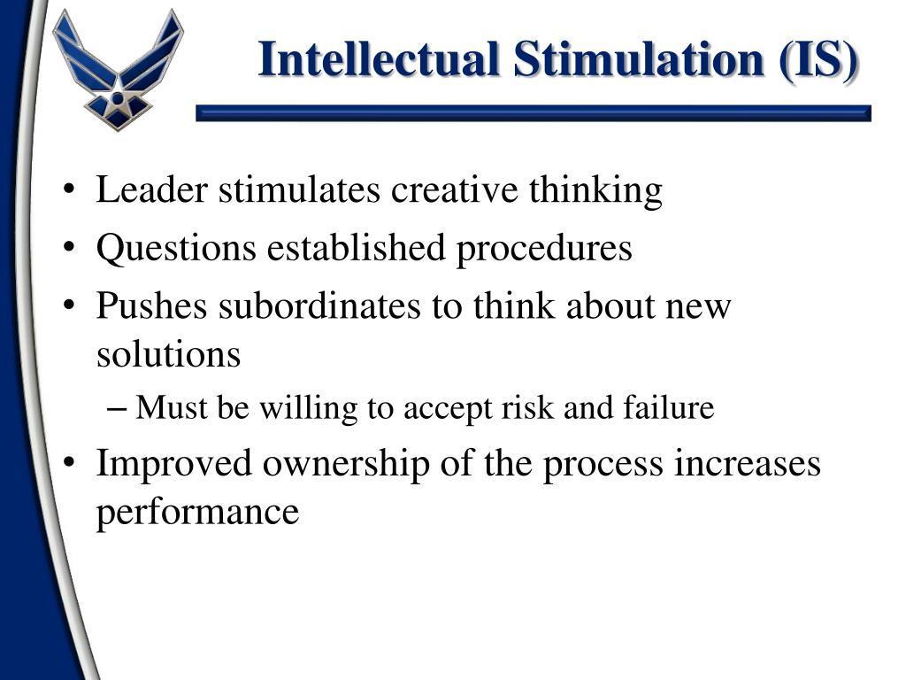Intellectual Stimulation (IS)