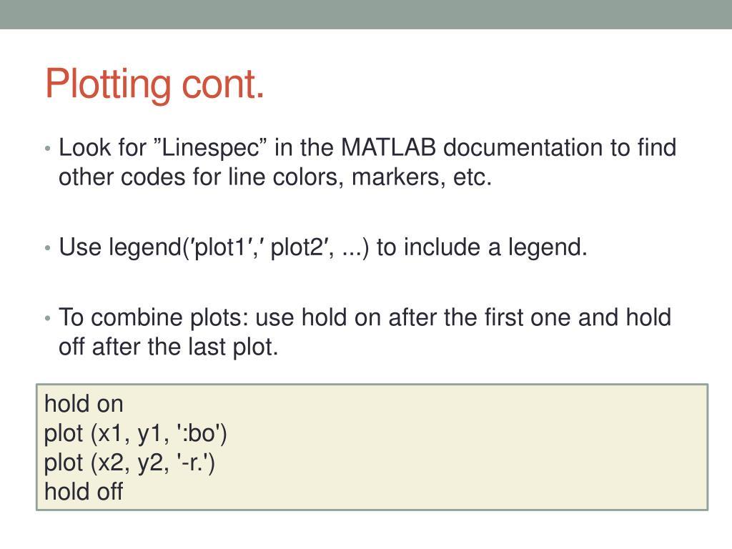 PPT - MATLAB Tutorial PowerPoint Presentation - ID:4389632