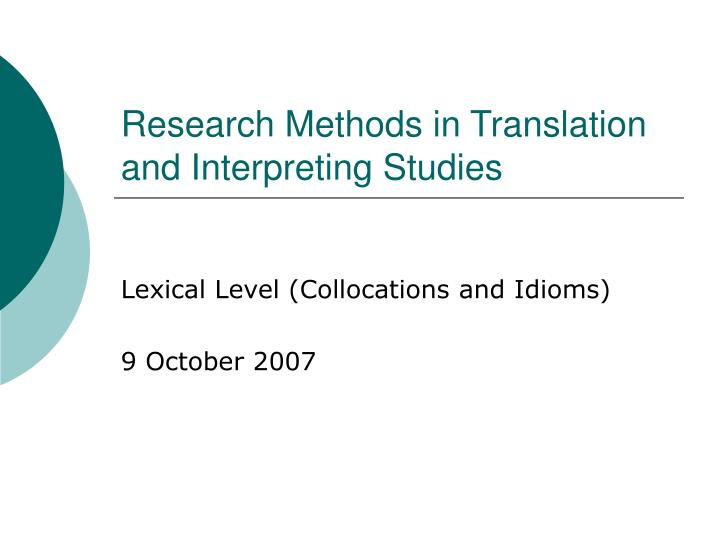 teaching cohesion in translation Cohesion and coherence interrelation: an approach to literary translation-mahfouz's trilogy cohesion and coherence are defined remarkably in text.