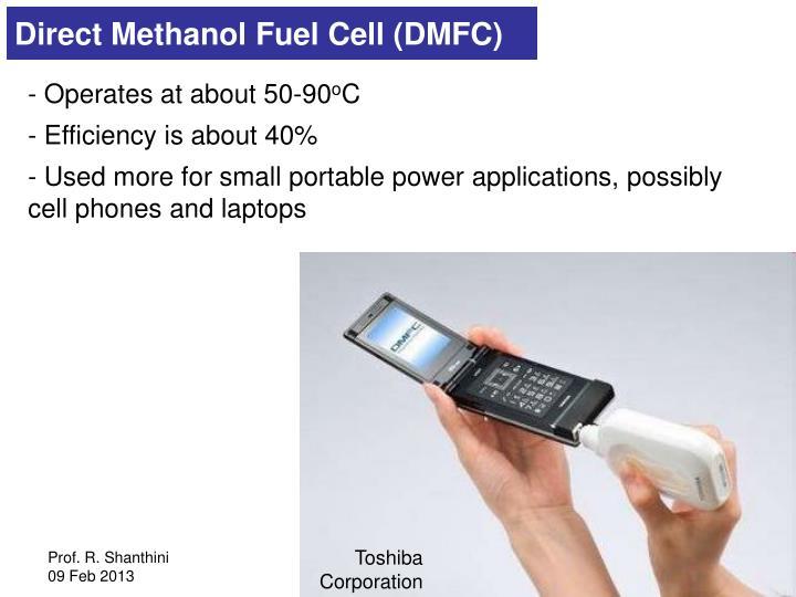 Direct Methanol Fuel Cell (DMFC)