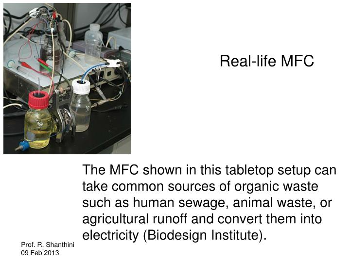 Real-life MFC
