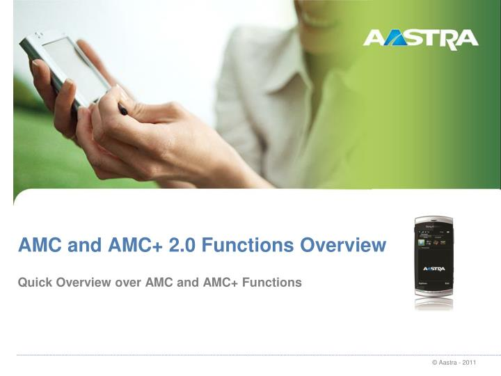 amc and amc 2 0 functions overview n.