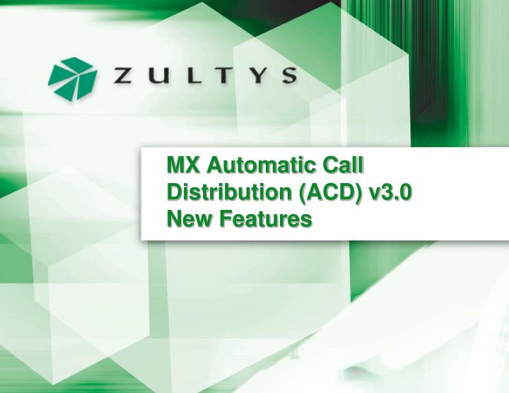mx automatic call distribution acd v3 0 new features n.