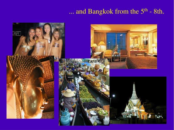 ... and Bangkok from the 5
