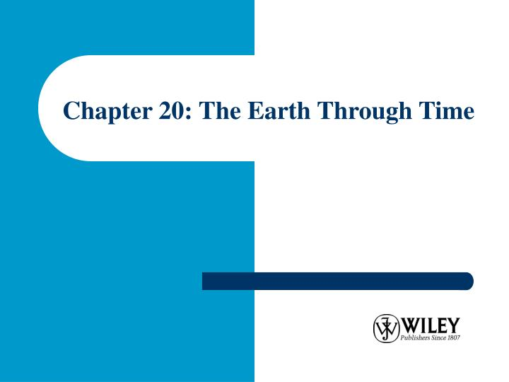 chapter 20 the earth through time n.