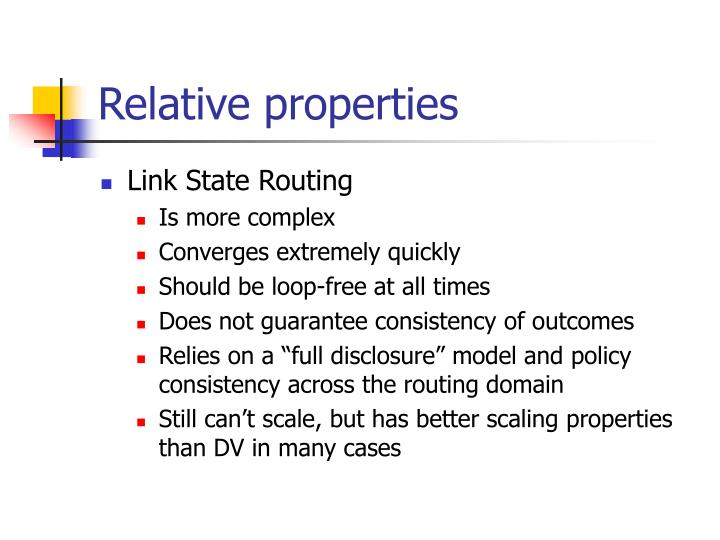 Relative properties
